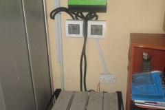 Inverter & its batteries at the Vice-Chancellor's Office-FUNAAB