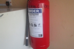 Fire Extinguishers at the CEADESE PBST Laboratory 2