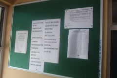 NoticeBoard 1 at the CEADESE PBST Laboratory
