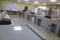INTERIOR Look of the Central Laboratory