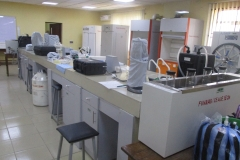 Interior look of the CEADESE Central Laboratory