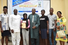 Awardees at the Learning Technology Workshop