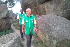 Dr. Dressler Offer on tour to Olumo Rock, Abeokuta
