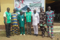 Resource Persons with Head of Farmer's Union