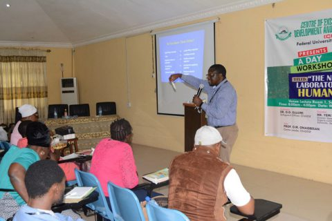 A-One Day Workshop an A New Trend In Laboratory Safety and Human Health Organized by CEADESE