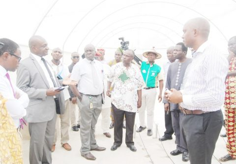 VC Applauds CEADESE As He inspects newly installed facilities