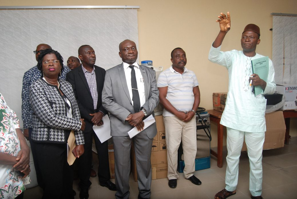 Commissioning and handing over of CEADESE Central Laboratory