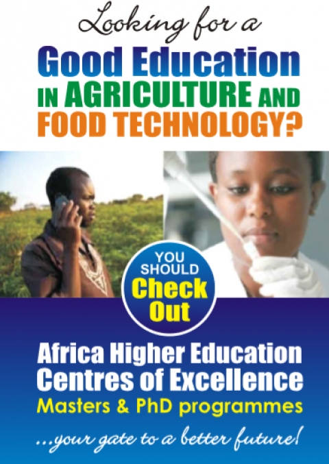 Looking for a Good Education in Agriculture and Food Technology?