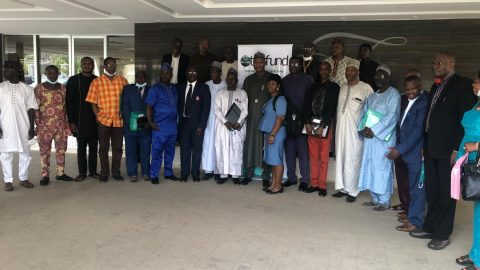 CEADESE Director facilities TetFund CoE Workshop from  December 17 – 18, 2020 in Abuja