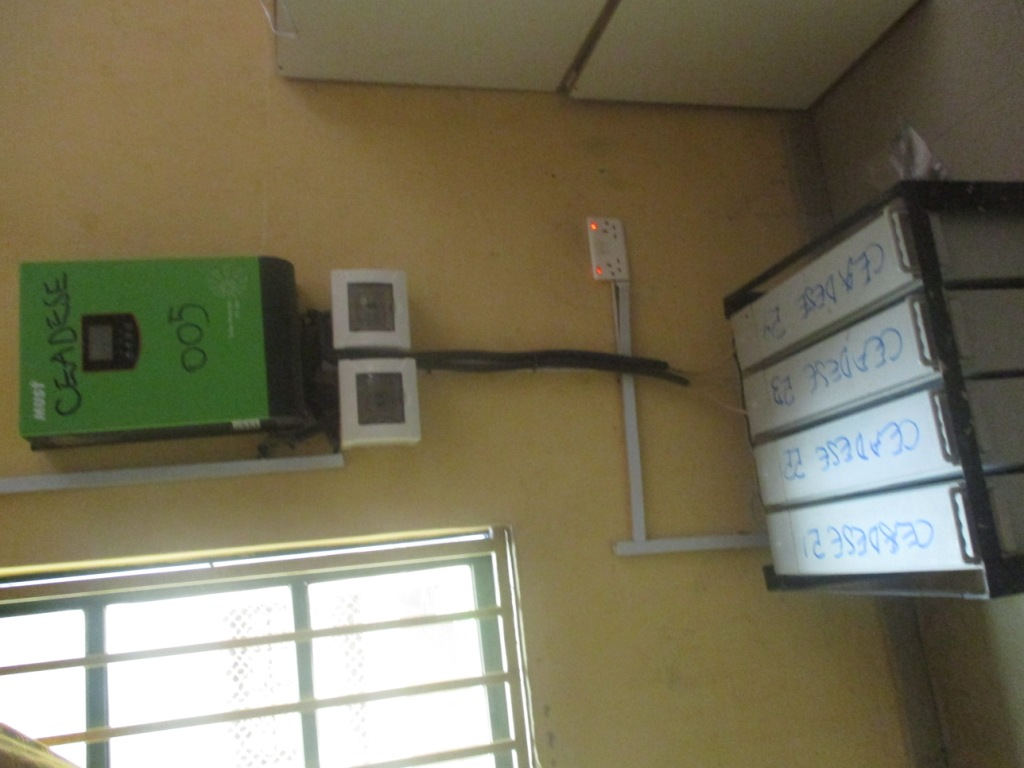Inverter & its batteries_Environmental Systems Laboratory at the Environmental Management and Toxicology Dept.3
