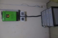Inverter & its batteries_Agricultural Economics Laboratory at the COLAMRUDS-FUNAAB