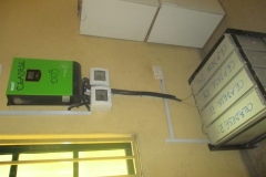 Inverter & its batteries_Environmental Systems Laboratory at the Environmental Management and Toxicology Dept.