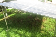 Solar Panel 2 for Inverters at the CEADESE Administrative Building