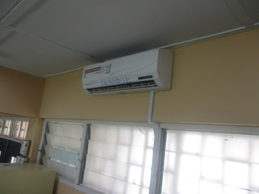 Air Conditioning at the CEADESE PBST Laboratory 2