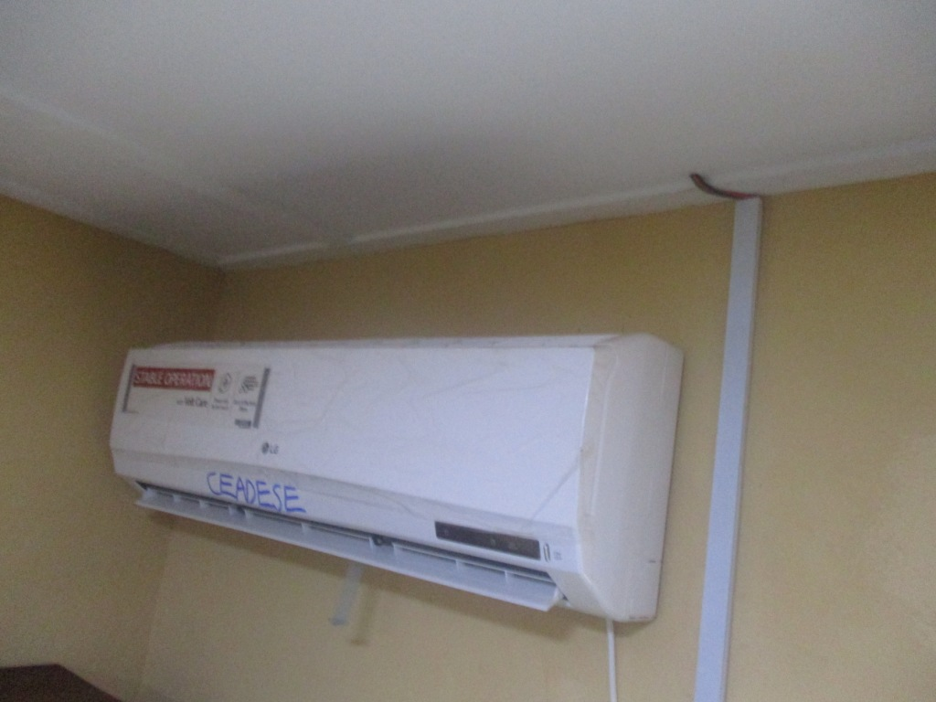 Air Conditioning at the CEADESE PBST Laboratory store