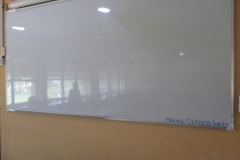 White Board at the PBST Laboratory