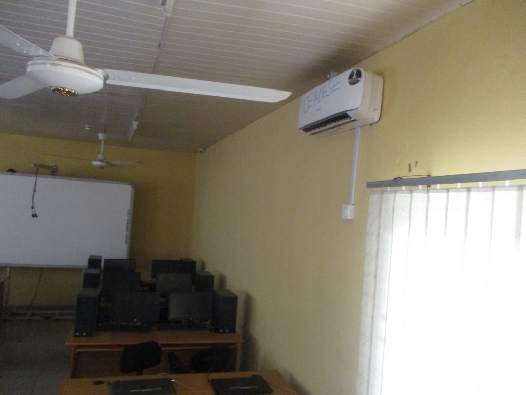 Air Conditioning at the CEADESE ICT Room 2