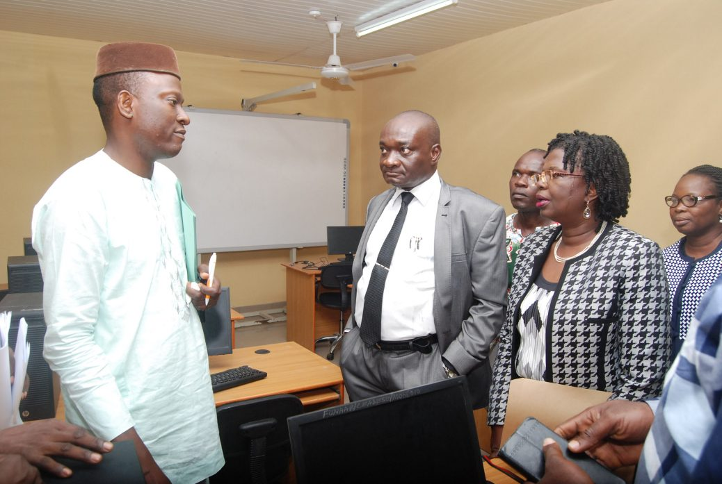 Commissioning and handing-over of ICT Room