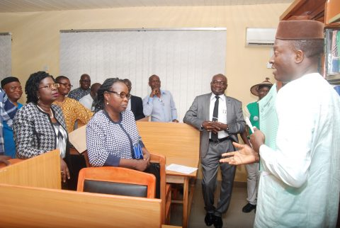 Commissioning and handing-over of CEADESE Library