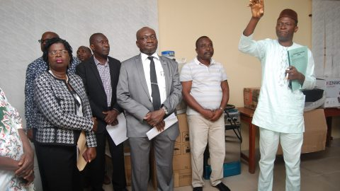 Commissioning and handing over – Central Laboratory